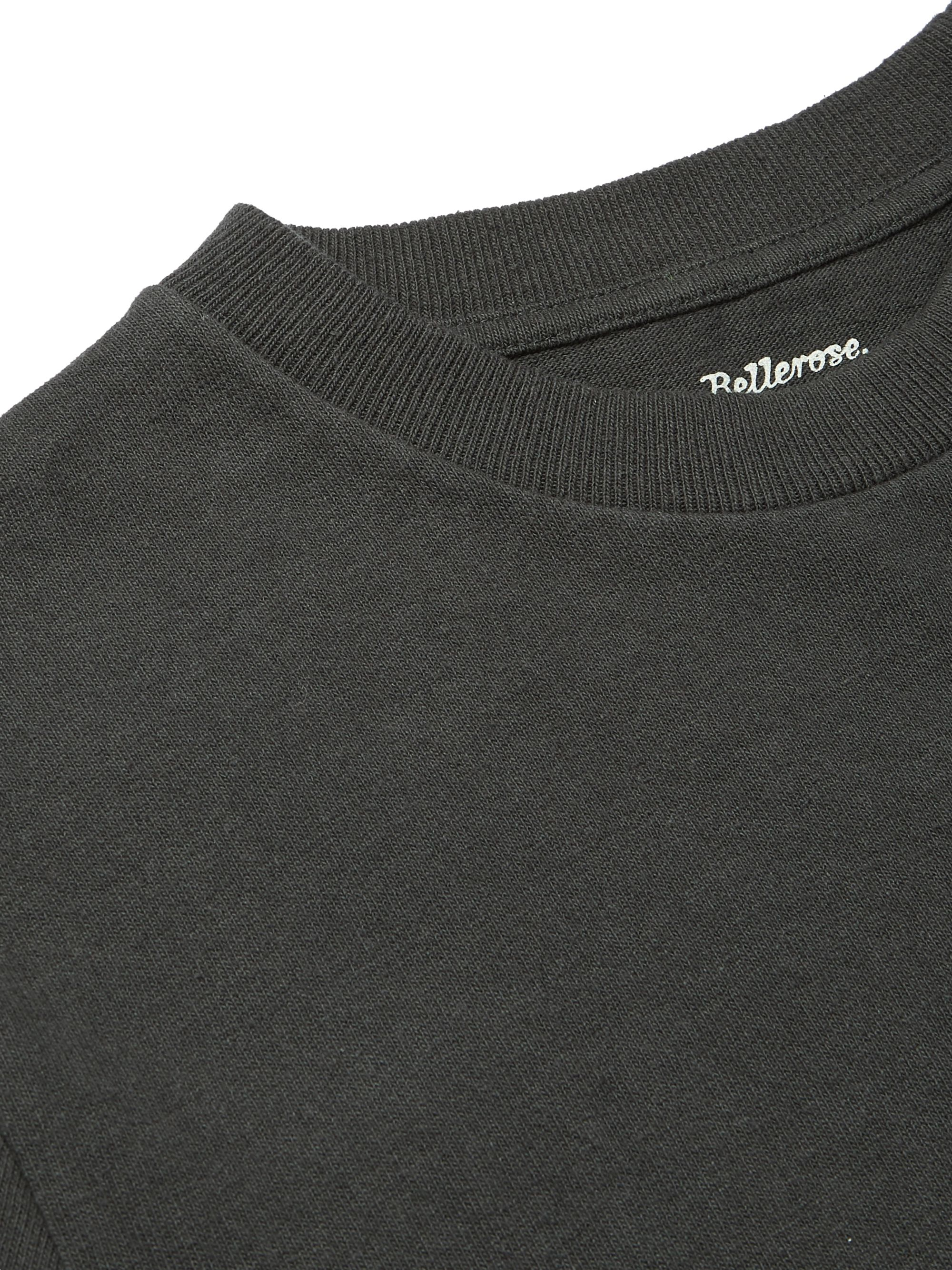 Black Cotton-jersey T-shirt | Bellerose