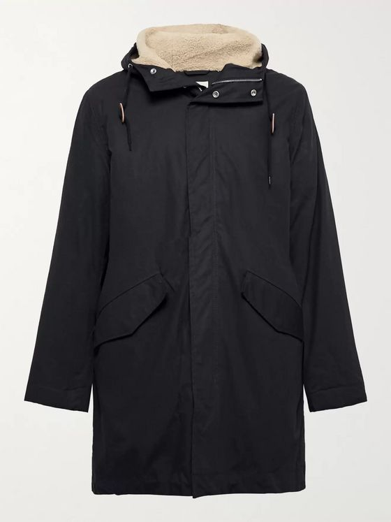 Bellerose Cotton Hooded Parka