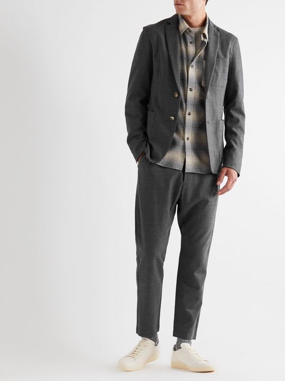 Barena Slim-Fit Unstructured Wool-Blend Blazer