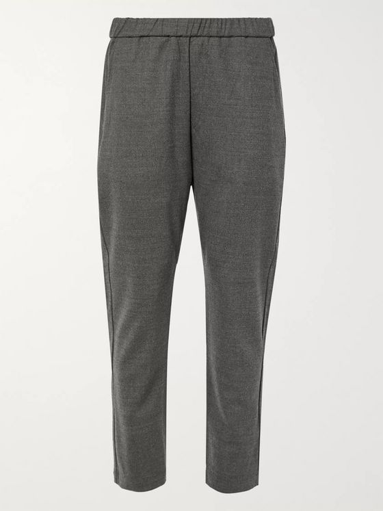 Barena Tapered Wool-Blend Trousers