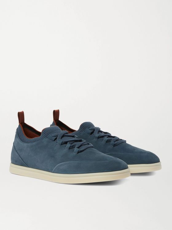 LORO PIANA Soho Walk Nubuck Sneakers