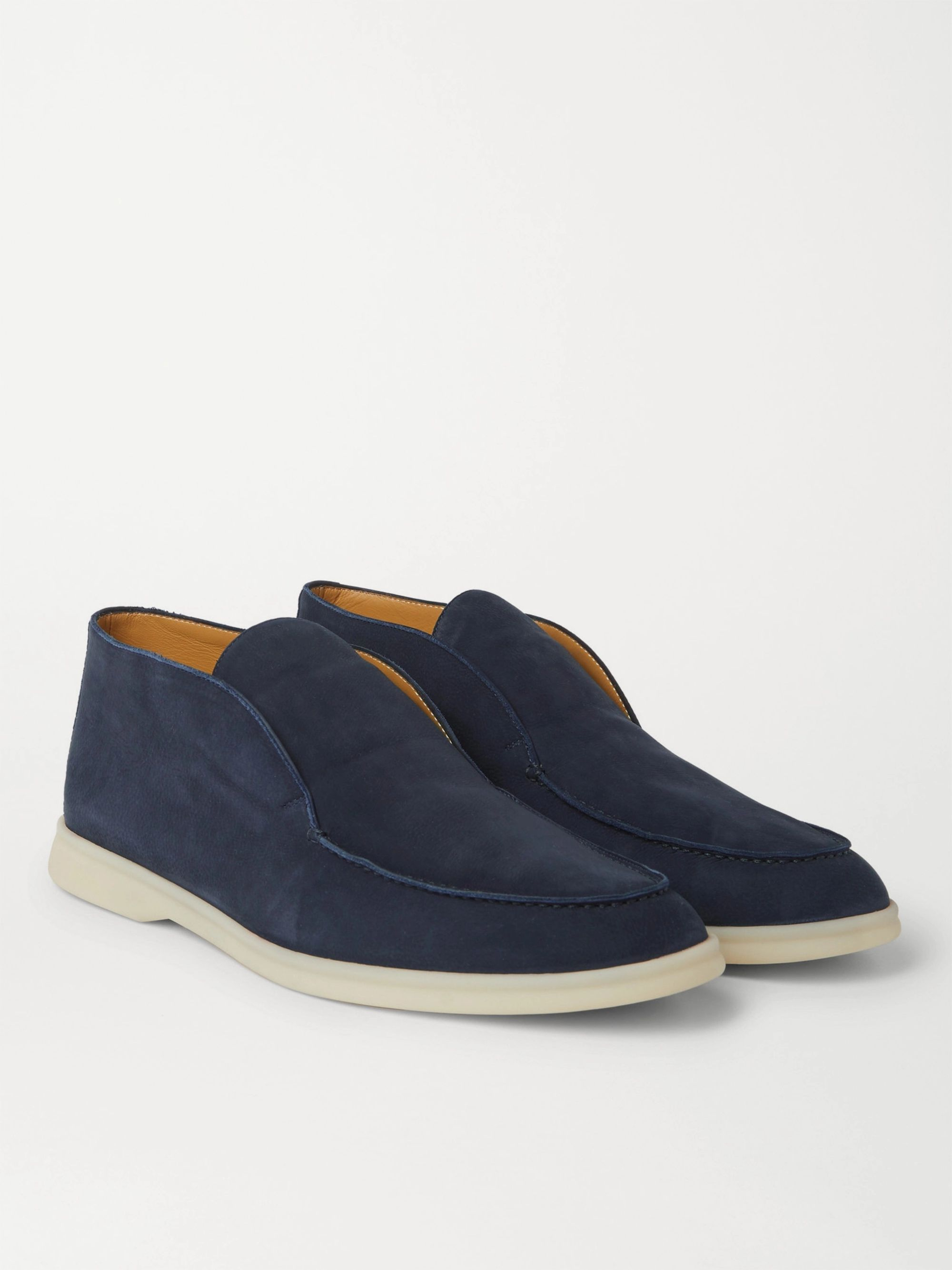 Loro Piana Open Walk Nubuck Boots