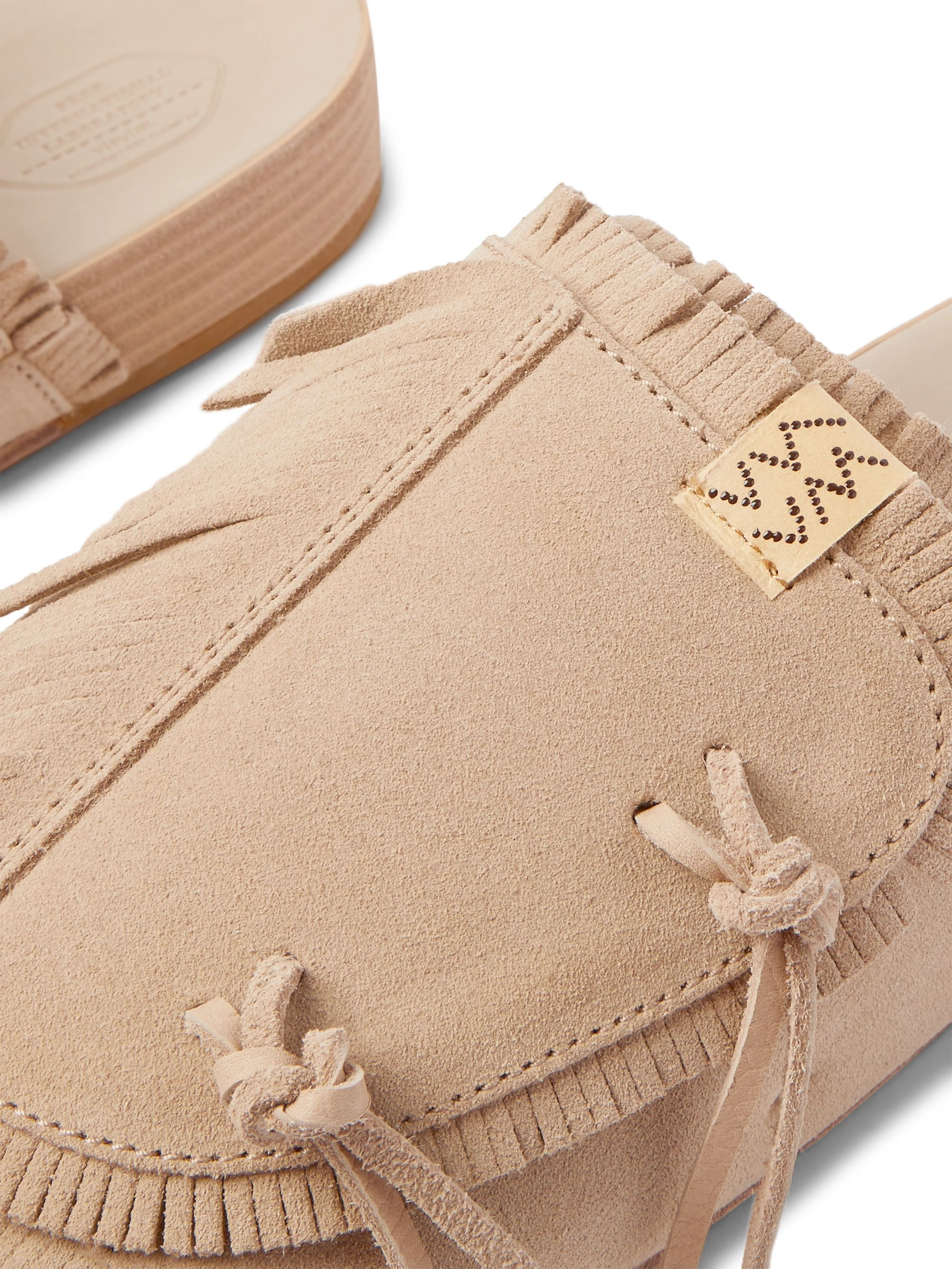 VISVIM Christo Shaman-Folk Fringed Suede Sandals