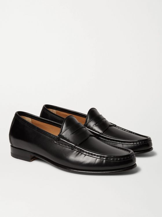 Yuketen '70s Leather Penny Loafers