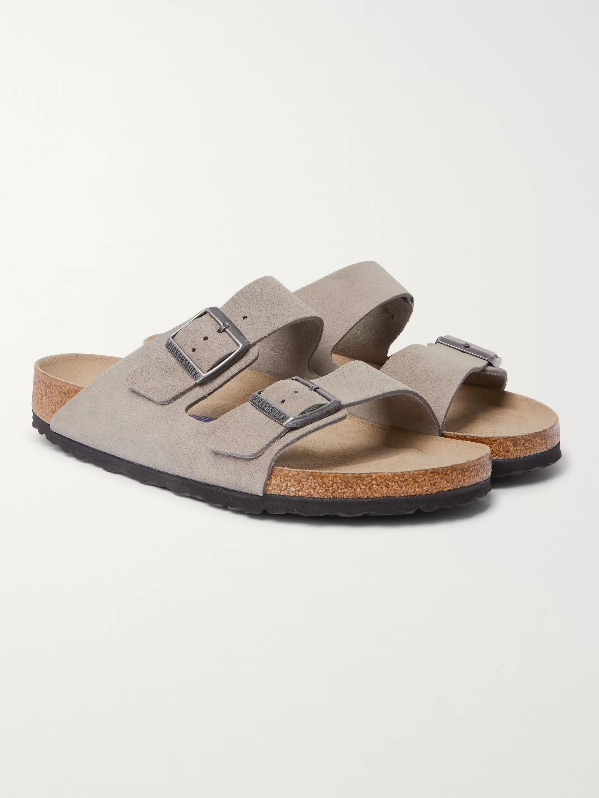 BIRKENSTOCK Arizona Suede Sandals