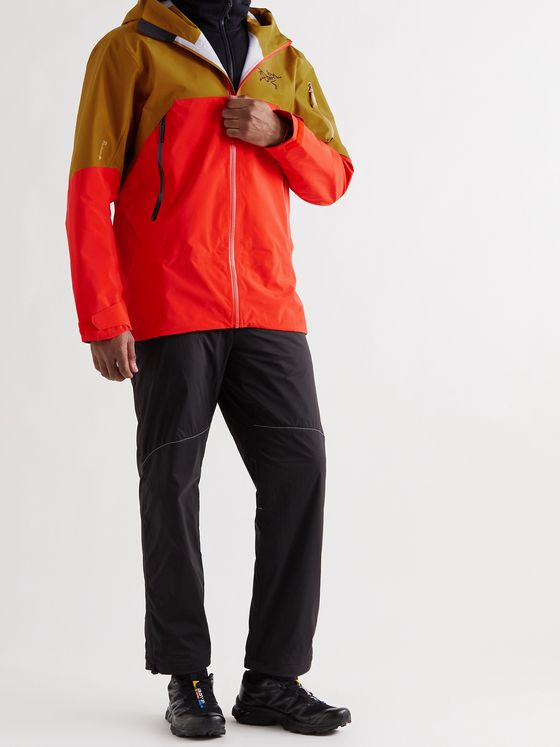 ARC'TERYX Rush Colour-Block Hooded Ski Jacket