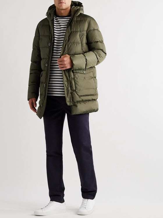 Herno Quilted Econyl® Down Jacket