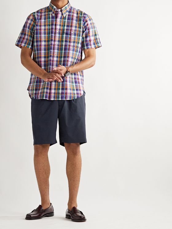 J.Press Pleated SOLOTEX Shorts