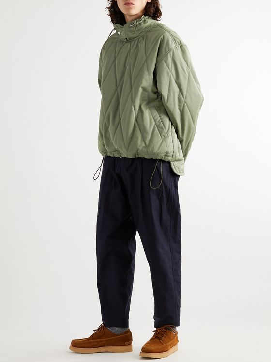 Jacquemus Mistral Quilted Cotton-Blend Twill Jacket