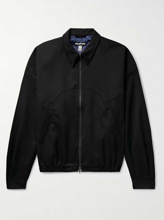 MONITALY Twill Harrington Jacket