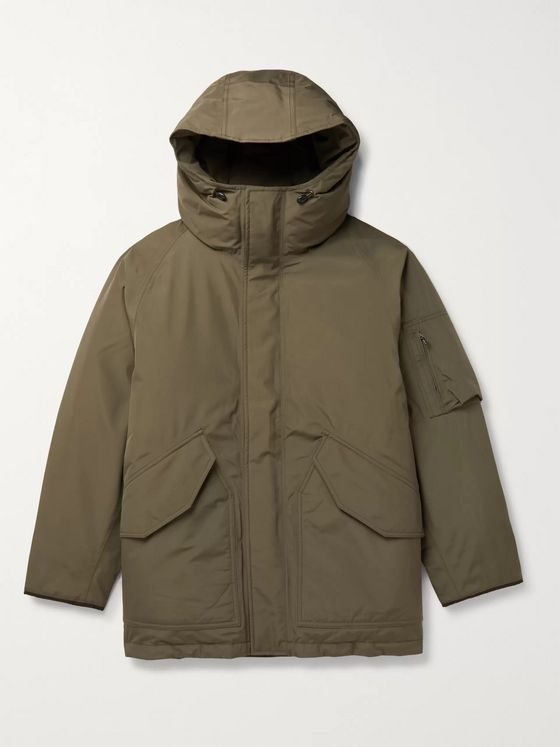 nanamica Padded GORE-TEX Hooded Down Parka