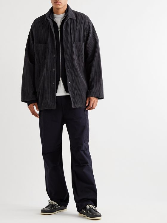 nanamica Cotton-Corduroy Overshirt