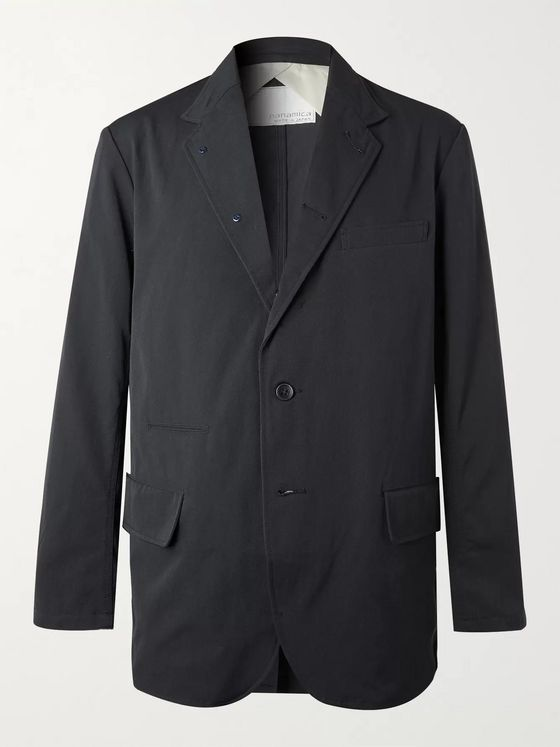 nanamica Club Unstructured Gabardine Blazer