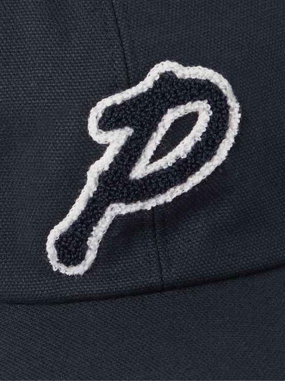 MR P. Logo-Appliquéd Cotton-Canvas Golf Cap