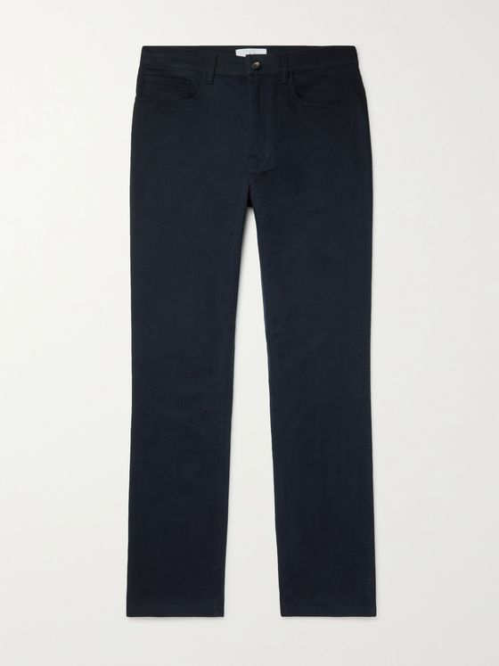 MR P. Slim-Fit Stretch-Cotton Twill Golf Chinos