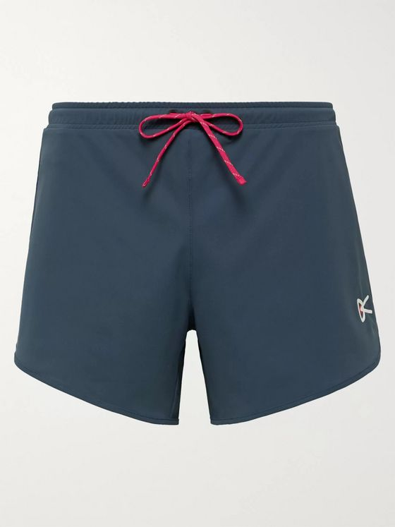 DISTRICT VISION Spino Slim-Fit Stretch-Shell Shorts