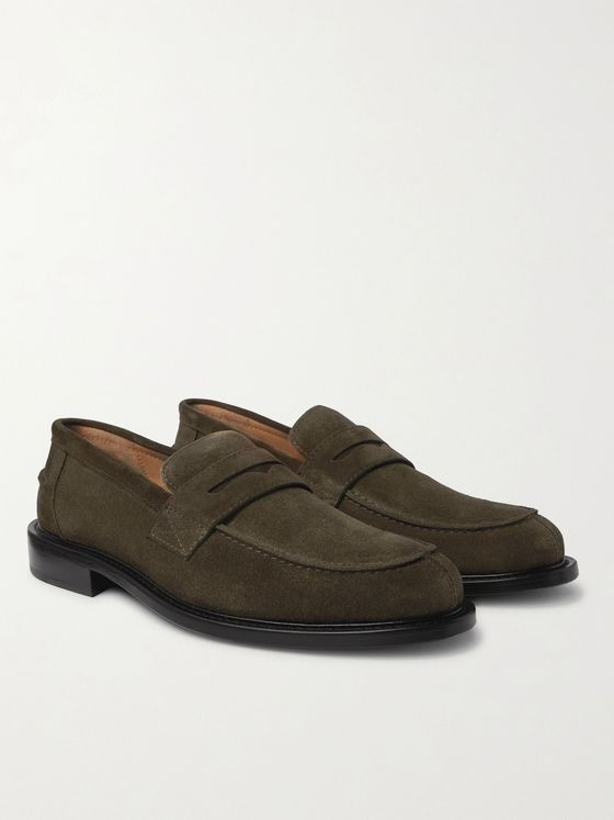 MR P. Scott Suede Loafers