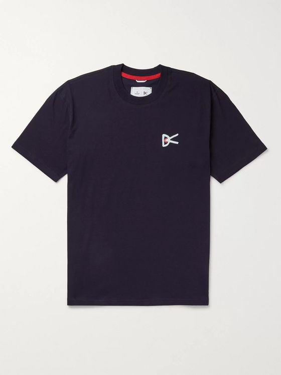 DISTRICT VISION + Reigning Champ Printed Cotton-Jersey T-Shirt
