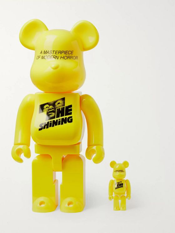 BE@RBRICK The Shining 100% & 400% Printed Figurine Set