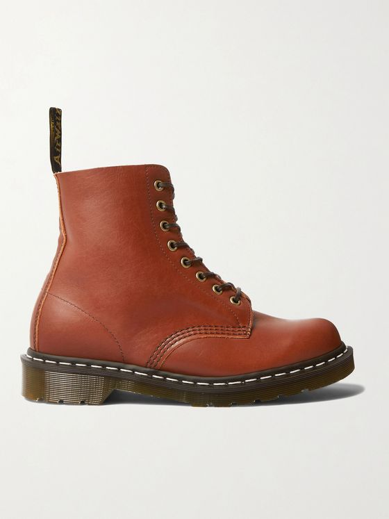 DR. MARTENS 1460 Leather Lace-Up Boots
