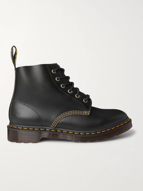 DR. MARTENS 101 Archive Leather Boots