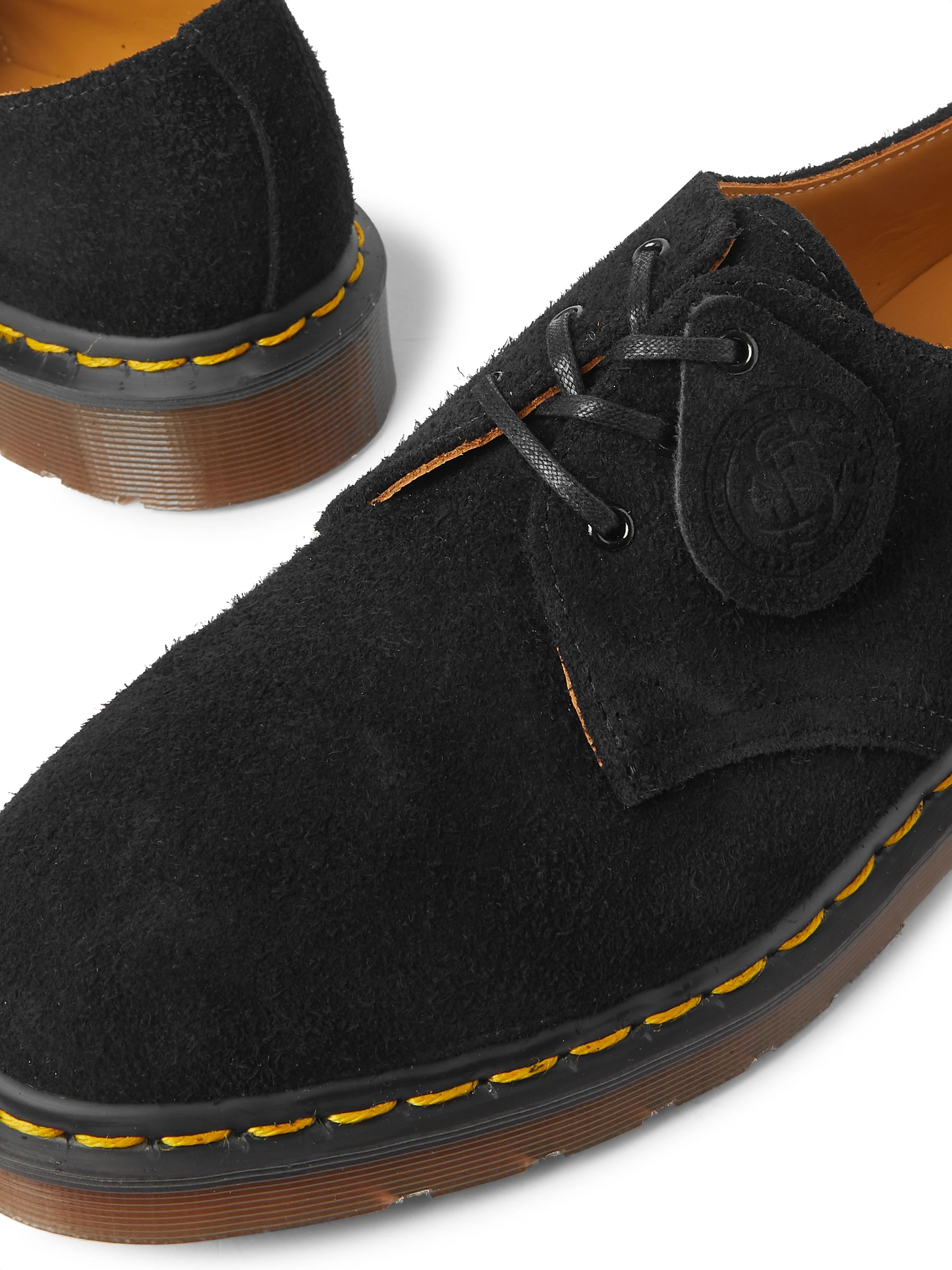 Dr. Martens 1461 Brushed-Suede Derby Shoes