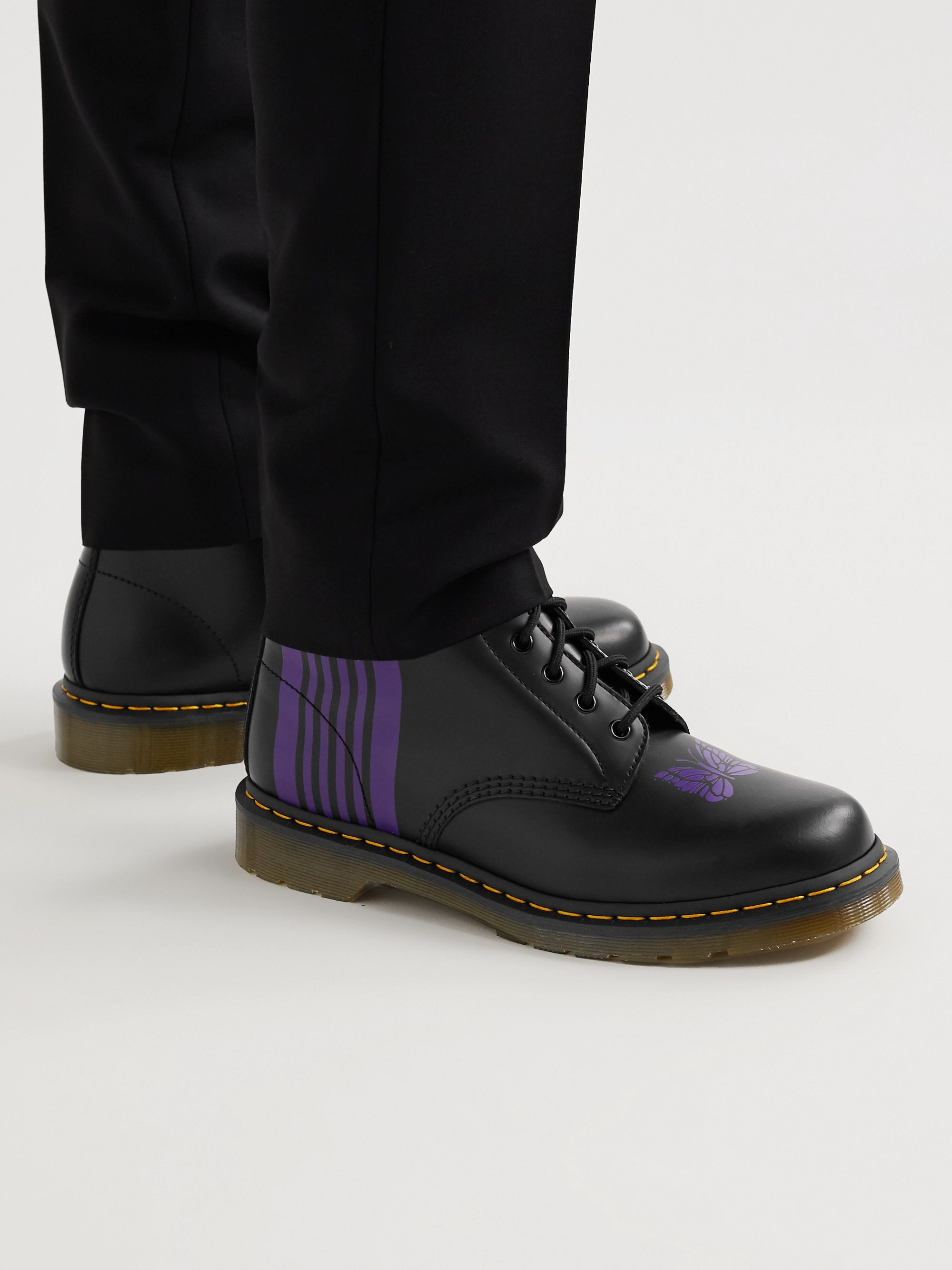 Dr. Martens + Needles 1460 Printed Leather Boots