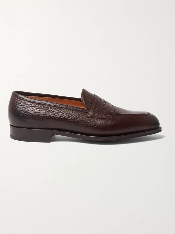 Edward Green Piccadilly Full-Grain Penny Loafers