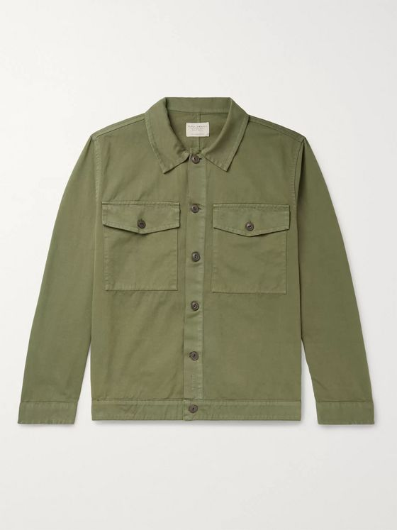 Nudie Jeans Colin Cotton-Twill Overshirt