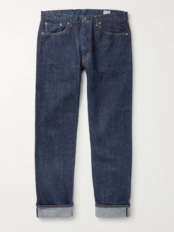 OrSlow 107 Slim-Fit Selvedge Denim Jeans