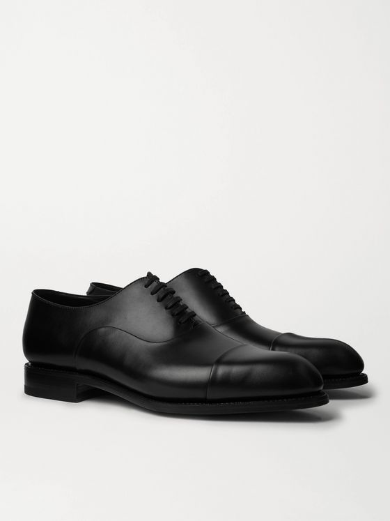 J.M. Weston Leather Oxford Shoes