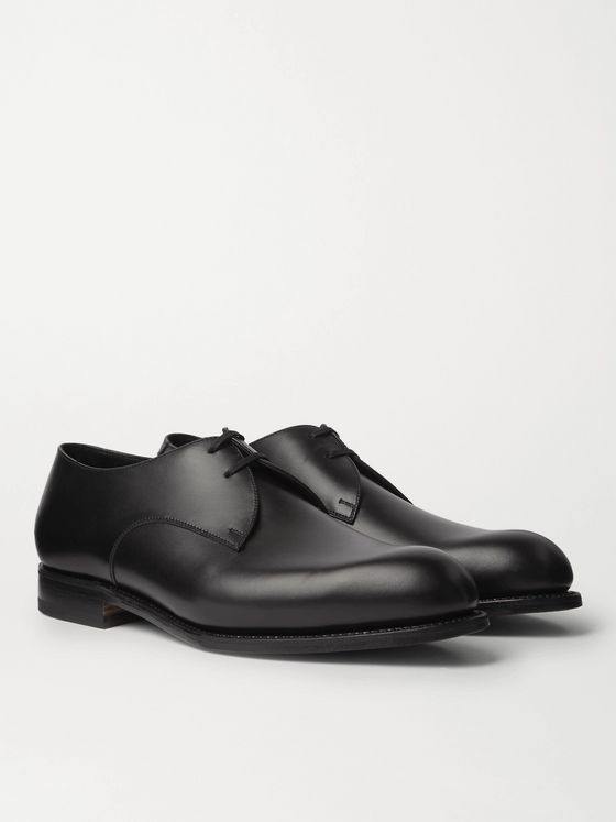 J.M. Weston Leather Derby Shoes