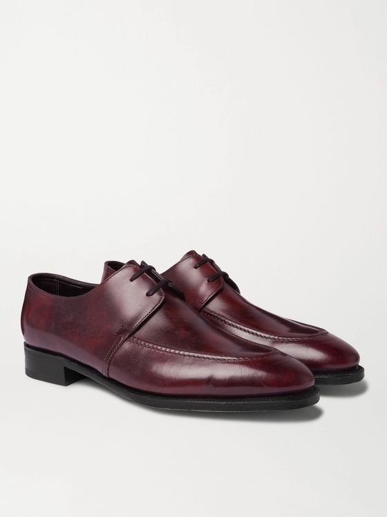 JOHN LOBB Wrey Leather Derby Shoes