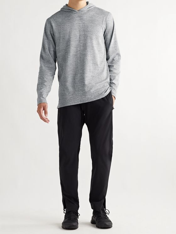 REIGNING CHAMP Mélange SOLOTEX Mesh Hoodie