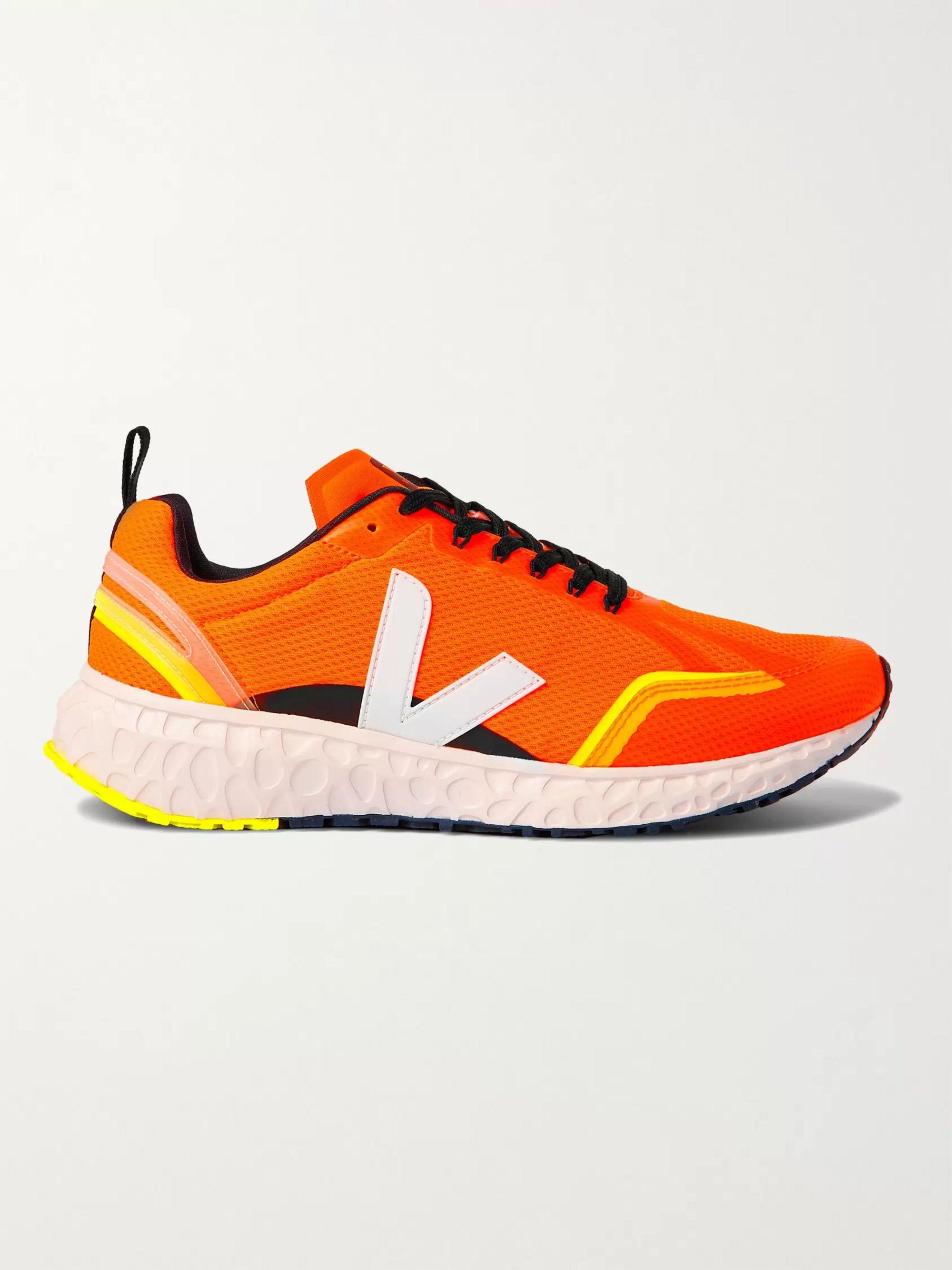 Orange Condor Neon Mesh Running