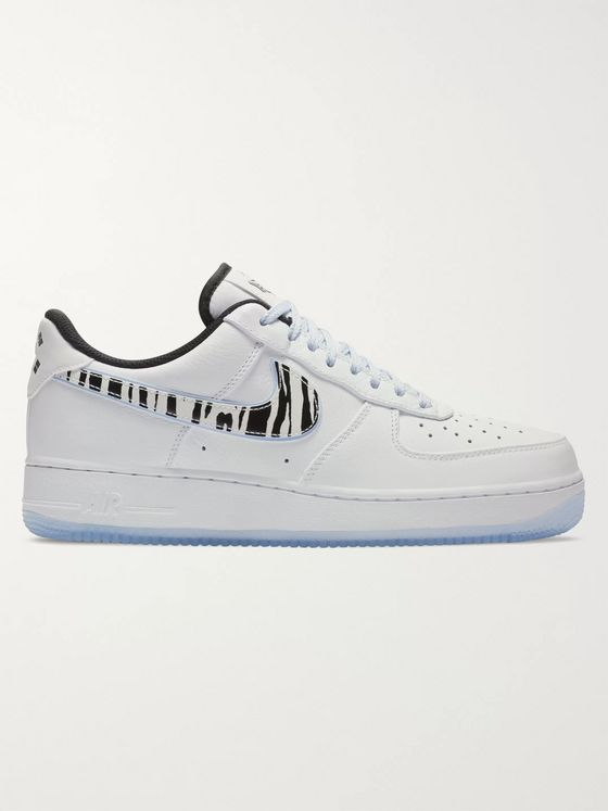 Nike Air Force 1 QS Leather Sneakers