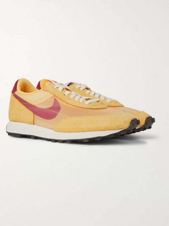 Nike Daybreak SP Faux Suede and Ripstop Sneakers