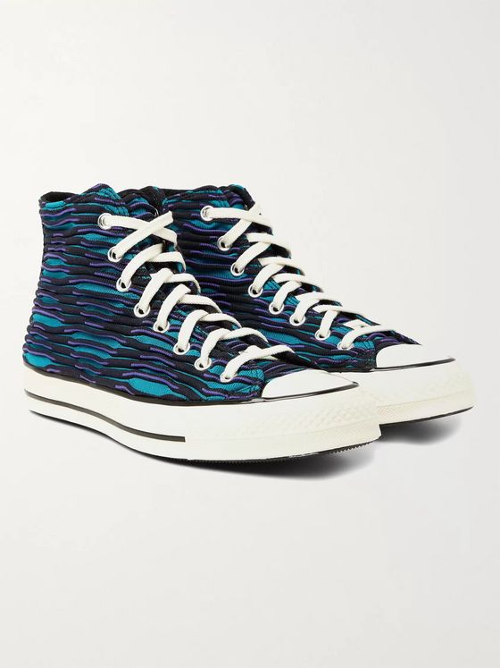 CONVERSE Chuck 70 Jacquard-Knit High-Top Sneakers