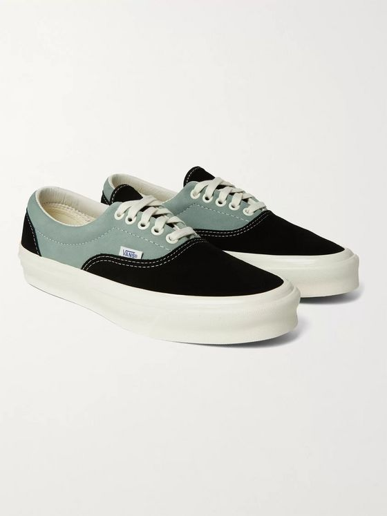 Vans OG Era LX Colour-Block Suede and Nubuck Sneakers