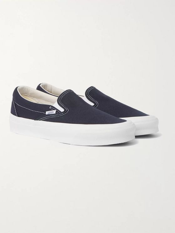 Vans OG Classic Canvas Slip-On Sneakers