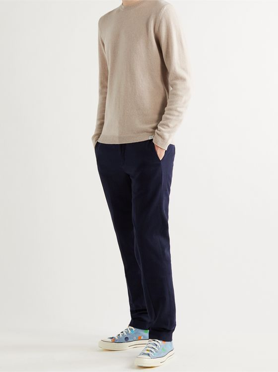Norse Projects Sigfred Brushed-Wool Sweater