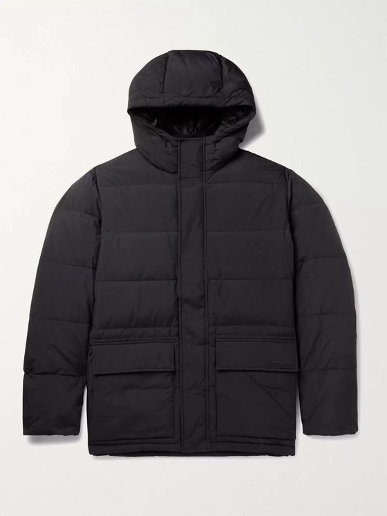 NORSE PROJECTS Willum Quilted Nylon Hooded Down Coat
