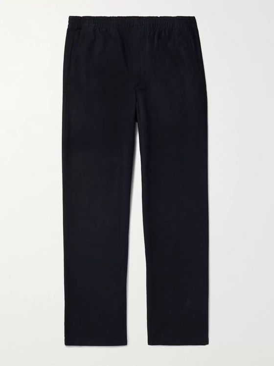 Norse Projects Evald Garment-Dyed Cotton-Canvas Drawstring Trousers