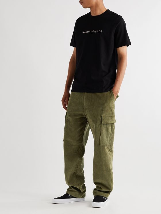 Pop Trading Company Cotton-Corduroy Cargo Trousers