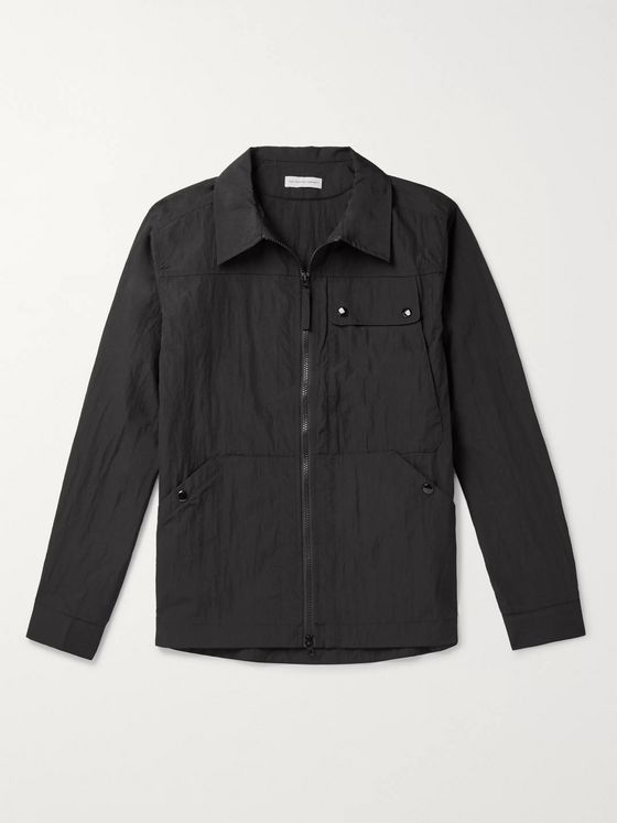 Pop Trading Company Nylon Overshirt