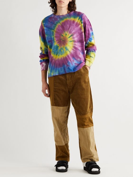 Needles Tie-Dyed Cotton-Jersey T-Shirt