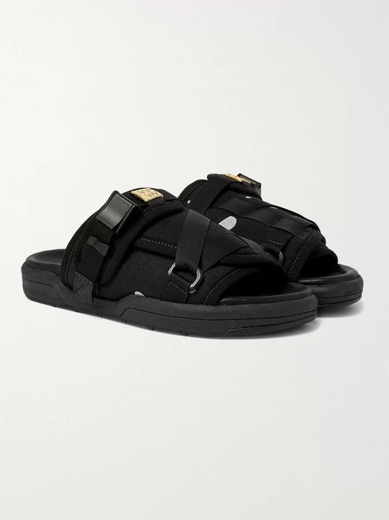 visvim Christo Canvas Sandals