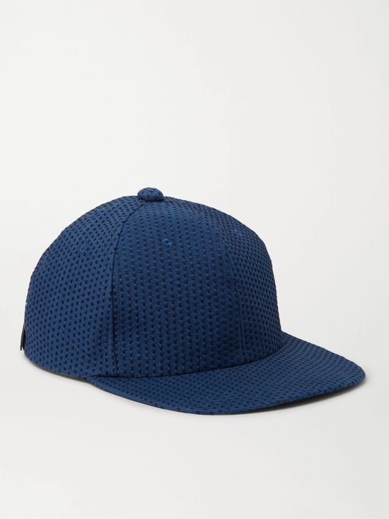 Blue Blue Japan Sashiko Indigo-Dyed Cotton Baseball Cap