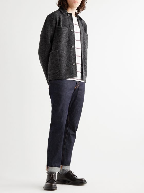 Universal Works Brushed Wool-Blend Jacket