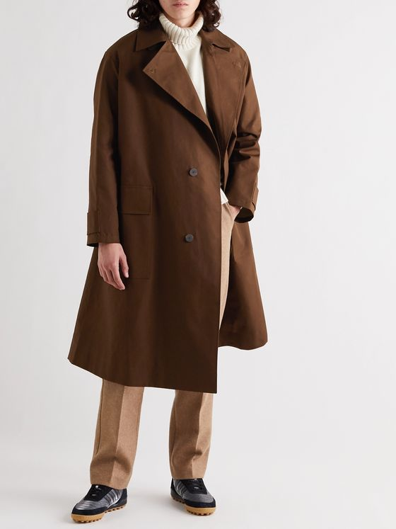 Studio Nicholson Delum Bonded Cotton Coat